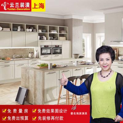 云兰装潢 上海厨房装修翻新改造局部装修公司旧房厨房全包装修翻新