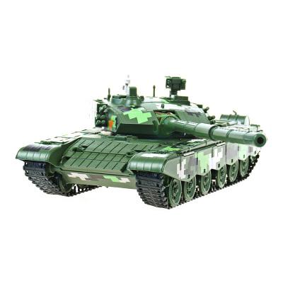 凯迪威军事模型1:35坦克模型99式主战坦克合金装甲战车玩具685002-99式主站坦克