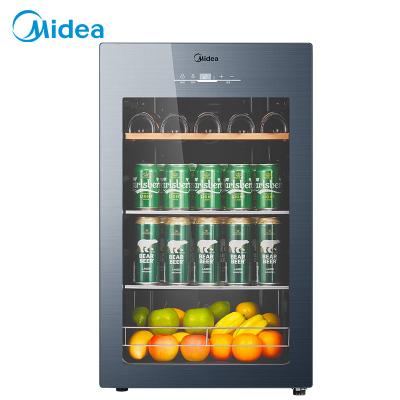 美的(Midea)JC-96GEMA家用恒溫紅酒柜冰吧冷藏雪茄酒柜玻璃冰柜