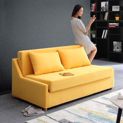 沙發床可折疊客廳雙人小戶型多功能簡易坐臥兩用書房儲物省空間乳膠棕墊