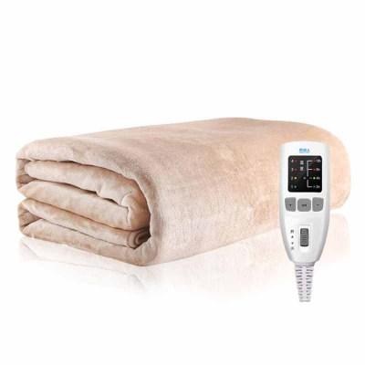 南極人(Nanjiren)電熱毯(1.8*0.8)法蘭絨單人電褥子加厚電熱褥 安全調溫保護 除濕排潮智能控溫學生宿舍