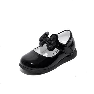 斯纳菲女儿童鞋2019春秋婴儿软底学步鞋宝宝小公主皮鞋子1-2-3岁