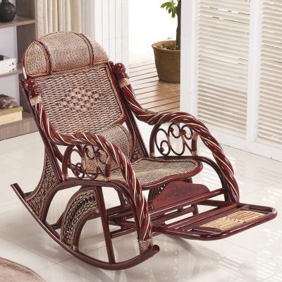 尋木匠送搖搖椅藤搖椅吊椅午睡椅逍遙椅陽臺室內印尼真藤成人藤椅