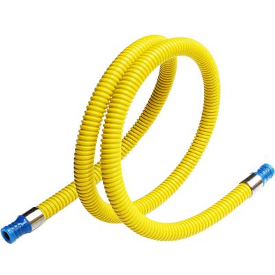 今安 家用液化氣管燃氣灶煤氣灶管子熱水器金屬連接管天然氣液化氣灶具軟管 3米 雙插口