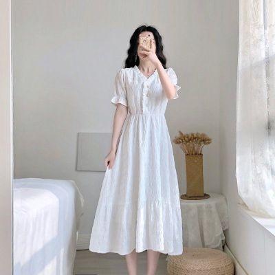 樵JIAO小香風連衣裙2020夏季新款桔梗法式復古顯瘦氣質仙女流行裙子