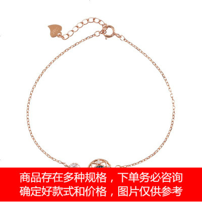 925银捕梦网手链简约个性清新设计ins小众设计宇宙星球手环韩版女