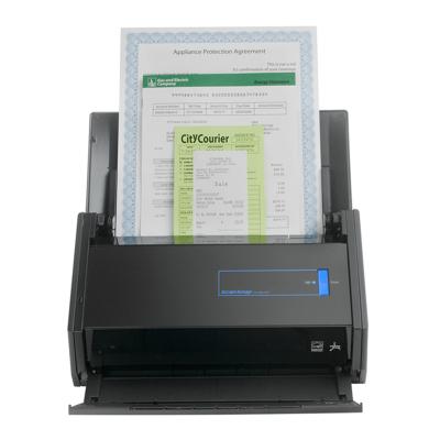 富士通(FUJITSU)iX500饋紙式掃描儀 WiFi無線傳輸 A4文檔連續彩色雙面高速掃描 25頁50面/分鐘