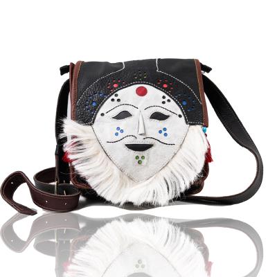 番德林面具包斜跨包名族風輕巧攜帶方便