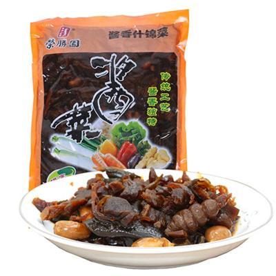 榮賸園醬香什錦菜1000g醬菜開胃菜下飯菜保定特產