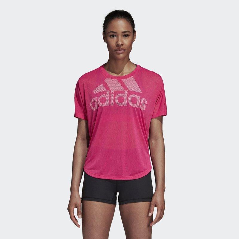Adidas брэндийн эмэгтэй гүйлтийн футболк 2019оны шинэ загвар M CZ8006