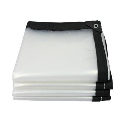古达透明加厚塑料布阳台多肉窗户遮雨防雨布薄膜保温大棚膜 包边打孔3米*8米