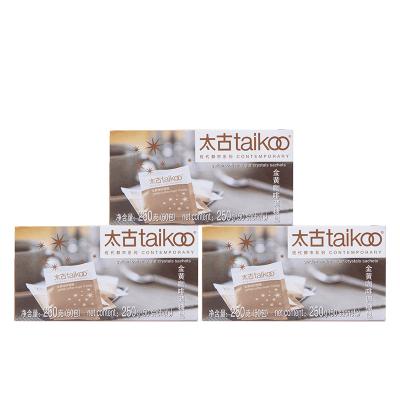 Taikoo太古糖包 金黄咖啡调糖包 金黄赤砂糖 250g*3盒共150包
