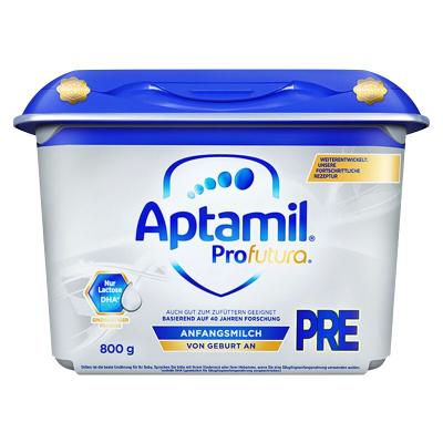 Aptamil 德國愛他美 白金版 嬰幼兒配方奶粉 pre段 0-3個月 800g/罐 21年7月