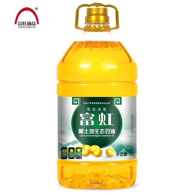 富虹油品5L黑土地生态一级大豆油 食用油