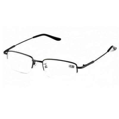 隆峰近视眼镜成品镜片近视镜男有度数配镜男半框胖子小眼睛框镜架