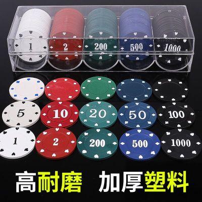 麻将机筹码牌子币卡片塑料牌麻将馆卡打牌用的打棋牌室钱码专用套【定制】