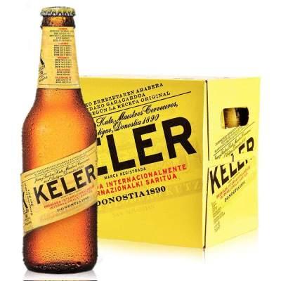 西班牙原瓶进口 开勒(KELER)啤酒250ml*12瓶整箱装