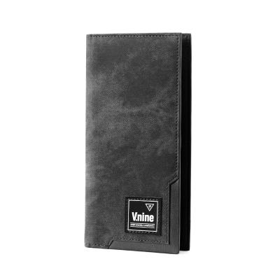 第九城(V.NINE) 男士卡包多卡位潮流钱包柔软大容量多功能钱夹两折