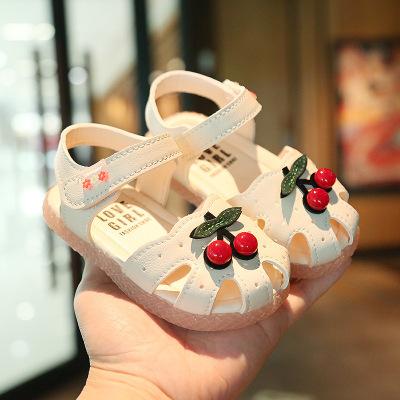馨妍馨品牌2020寶寶學步鞋女童涼鞋小公主軟底嬰兒鞋1歲小童幼兒童鞋子