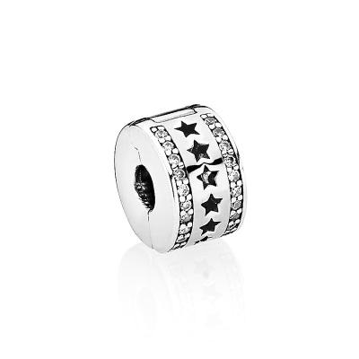 PANDORA潘多拉 星光熠熠 925银固定夹 银色