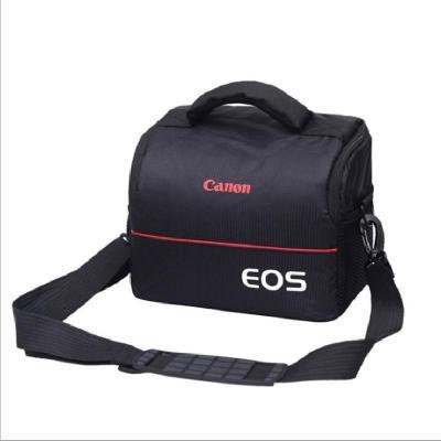 单反相机包600D650D60D700D6D5D35D2单反包摄影包微单包莎丞升级加厚款(佳能)黑色