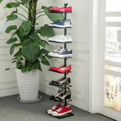 BLOVES欧式铁艺鞋架简约现代家用宿舍多层简易经济型拖鞋收纳鞋柜子包邮
