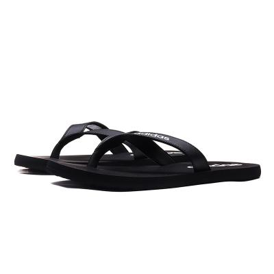 【自營】阿迪達斯男鞋拖鞋戶外游泳沙灘涼鞋一字拖運動鞋EG2042