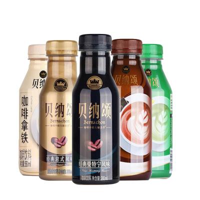 康師傅貝納頌咖啡280ml*6瓶經典曼特寧意式風味咖啡飲料