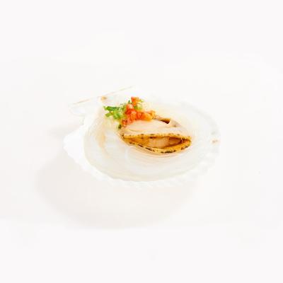 福字号 冷冻蒜蓉粉丝虾夷扇贝 270g 6只 烧烤食材