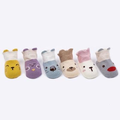 抹炫(MOXUAN)0-4岁韩版低帮儿男女童袜薄款婴儿儿童宝宝地板袜子船袜