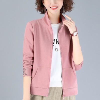 寬松短外套女長袖新款潮韓版棒球服休閑開衫