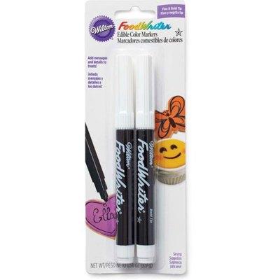 美國惠爾通色素筆食用復配著色劑 翻糖餅干食用 黑色色素筆2支裝