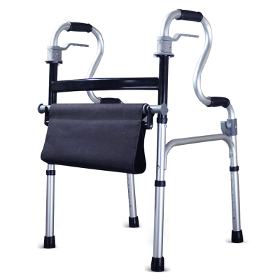高博士(GAO BO SHI)助步器助行拐杖四腳老人多功能輕便殘疾人輔助行走器 坐墊款