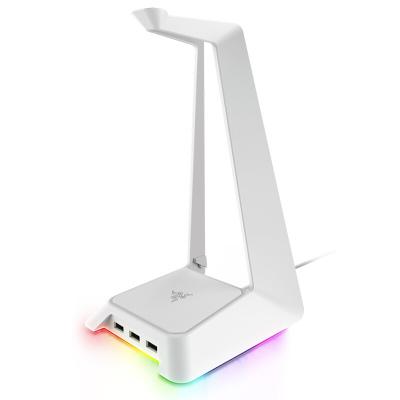 雷蛇(Razer)幻彩基座-水銀 耳機支架 桌面整理器 3個USB3.0接口 幻彩燈光系統 信仰燈光加持