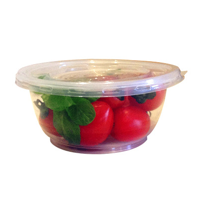 【塑料碗 600套環保碗+蓋 450ml】一次性塑料碗筷勺子打包袋圓形刨冰涼冰粉碗打包透明飯盒帶蓋