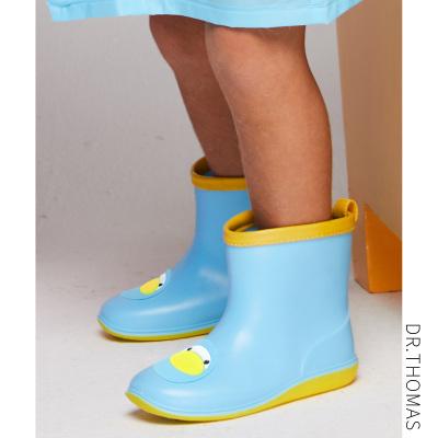 兒童雨衣雨鞋套裝四季男童水鞋小童膠鞋女童防滑套鞋寶寶雨靴