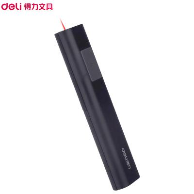 得力(deli)2810紅光激光筆 2支 電子教鞭筆 PPT投影售樓沙盤指示筆 黑色 激光筆