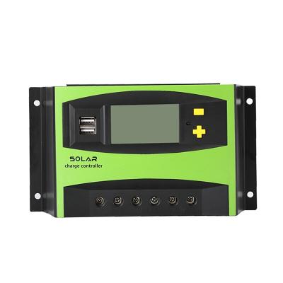 太阳能控制器12v_24v40a光伏板控制器太阳能充电控制器_太阳能控制器