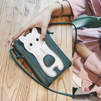 2020新款女包包迷你卡通手機包休閑潮流單肩女士零錢包