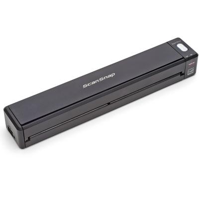 富士通(Fujitsu)iX100扫描仪A4自动进纸无线WiFi传输便携式扫描仪 黑色