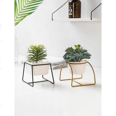 ins北歐仿真植物多肉仙人掌小盆栽假花房間室內盆景裝飾綠植擺件