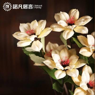 干花花束假花仿真花单只客厅文艺室内落地花里装饰花玄关