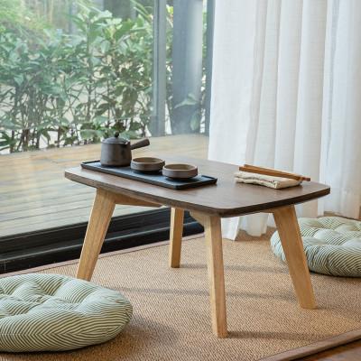 尋木匠實木飄窗桌北歐窗臺床上炕桌簡約茶桌陽臺電腦矮書桌榻榻米小茶幾