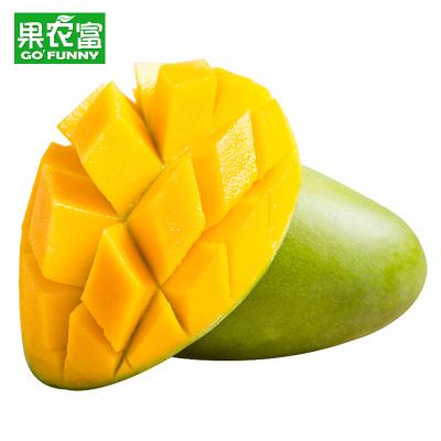 果農富【2件起售】越南進口玉芒 2.5斤 單果200-400g 熱帶新鮮水果青皮芒果香芒