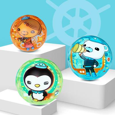 海底小纵队(OCTONAUTS) 儿童玩具球 创意发光球儿童弹力球手抓 闪光球10cm H1006