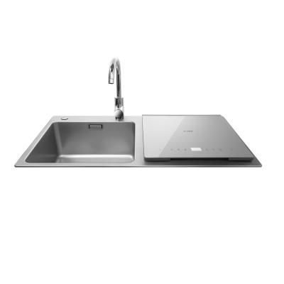 方太(FOTILE) JBSD2T-X9S 6套 钻石银 跨界三合一 超声波清洗 嵌入式家用水槽洗碗机
