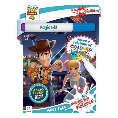 【中商原版】玩具總動員4活動書套裝(配魔法筆)英文原版 Inkredibles Toy Story 4 Magic