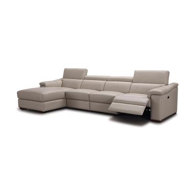 科智乐智能真牛皮沙发组合 AIR 电动2人位+无扶手1人位+左躺