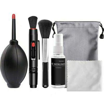 單反相機清潔套裝手機蘋果筆記本電腦屏幕鍵盤清洗劑鏡頭筆布氣吹BASN