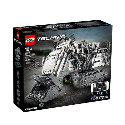 LEGO/樂高 機械組系列42100 利勃海爾挖掘機 男孩拼插積木玩具 可藍牙連接4108顆 生日禮物 12歲以上適用